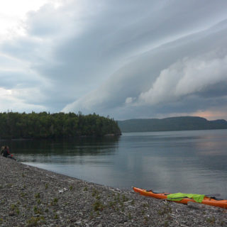 Lake Superior Storm Front