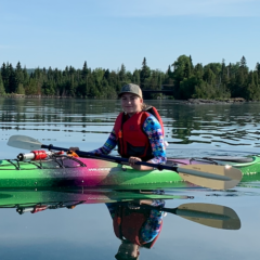 Daphne kayak