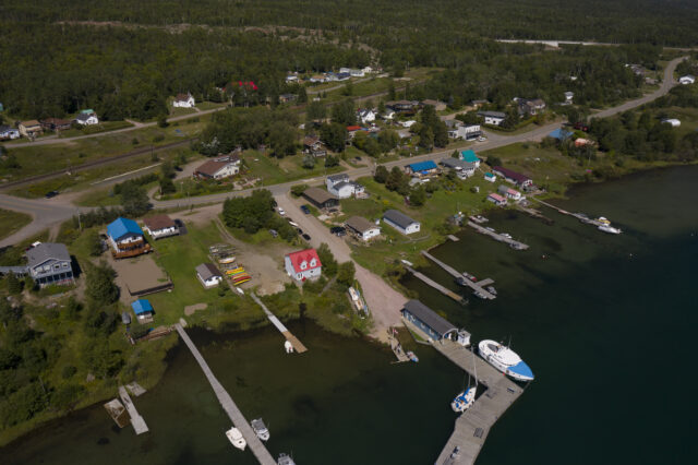 Rossport Waterfront View